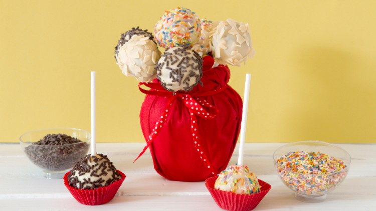 Cake Pop Maker Steps