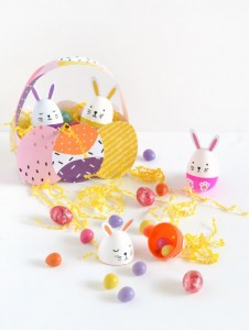 Diy easter basket and bunny eggs the reject shop maybe its the big kid in me coming out to play but i cant resist making treat baskets at easter most people i know dont bother with easter gifts negle Choice Image