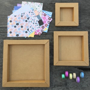step 1 look at your cardboard frames - Diy Cardboard Picture Frame