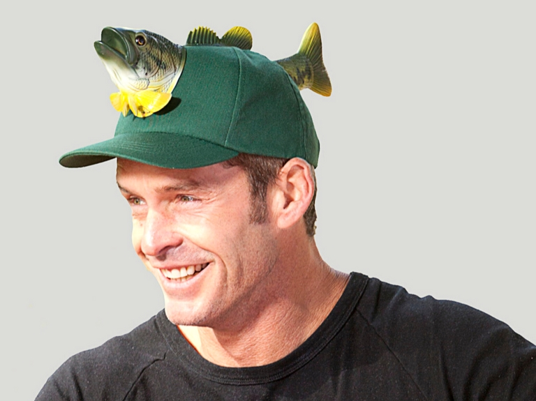 father's day novelty fish hat