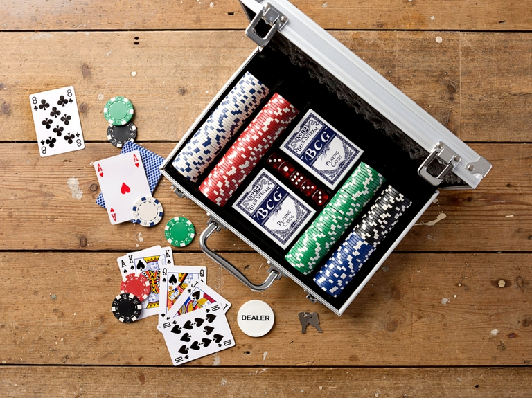father's day poker set