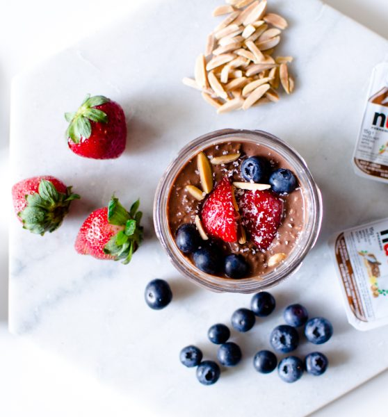Overnight Oats with Nutella Recipe