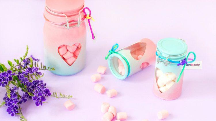 DIY Valentine's Day Treat Jars