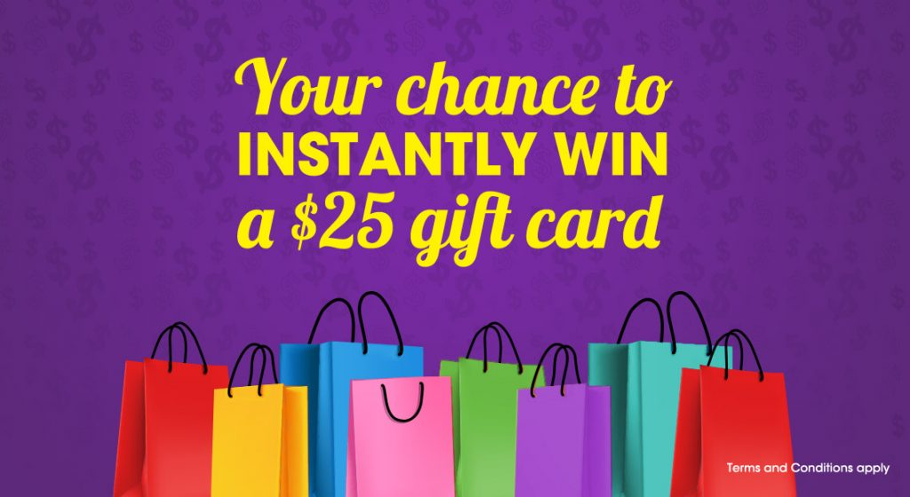 instant win competition